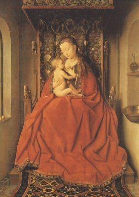 Eyck, J. Madonna von Lucca, ca. 1436. (2.Wahl)