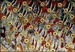 Byzantinisch. Die Tugendleiter. Rumänisch. KK