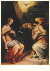 Vasari, Giorgio. Verkündung