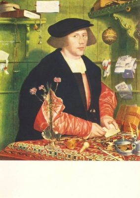 Holbein, H. Der Kaufmann Georg Gisze. KK