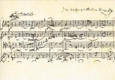 Mozart, Wolfgang-Amadeus. Streichquartett. KK