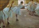 Edgar Degas. Die Tänzerinnen. KK