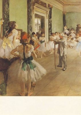 Edgar Degas. Tanzstunde