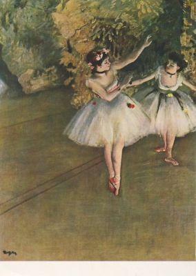 Edgar Degas. Ballett. KK