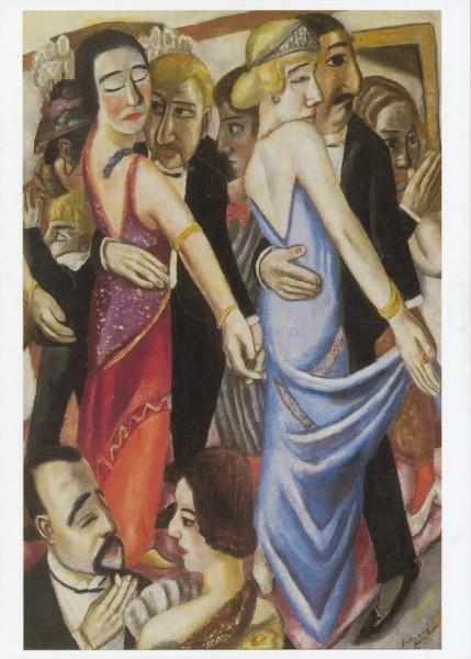 Max Beckmann. Tanz in Baden-Baden, 1923. KK