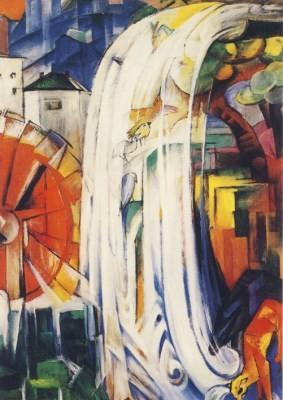 Franz Marc. Die verzauberte Mühle 1913