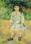 Piere-Auguste Renoir. Das Kind mit dem Knutchen, 1885