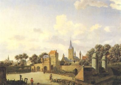 Heyden, J. Eine deutsche Stadt. (St. Severin in Köln) KK