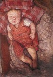 Modersohn-Becker. Schlafendes Kind, um 1904. KK