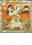 """Romanisch. Der Engel aus """"Drei Könige"""", um 1160. KK"""