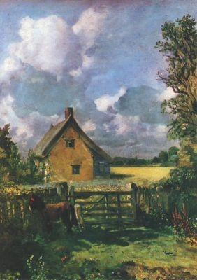 John Constable. Häuschen im Kornfeld. KK