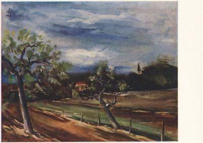 Vlaminck, M. Landschaft.
