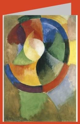 Robert Delaunay. Formes circulaires, soleil n° 2, 1912