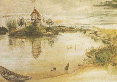 Ein Weiherhäuschen, Dürer