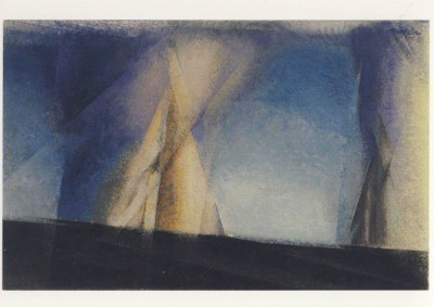 Lyonel Feininger. Segelpyramide, 1930