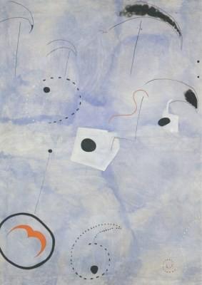 Joan Miró. Komposition, 1925
