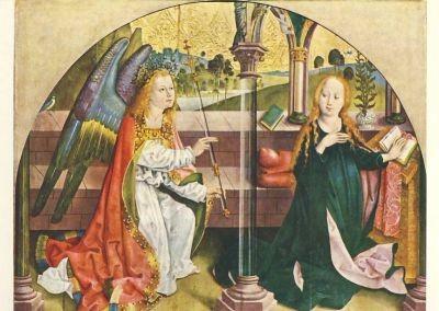 Verkündigung an Maria des /Rohrdorfer Altars, 15. Jh. KK