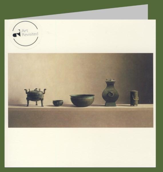 Helmantel, H. Chinesisische Bronzeobjekte. 15x15-DK
