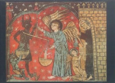 Katalanisch. Erzengel Michael, 13. Jh. KK
