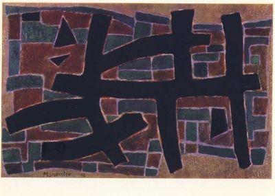 Manessier, A. Was verloren war, 1952. KK
