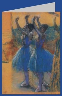 Edgar Degas. Zwei Tänzerinnen, um 1900