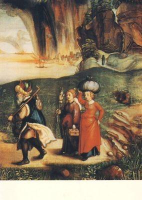 Albrecht Dürer. Lot und seine Töchter