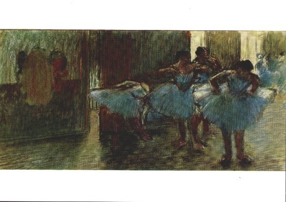 Edgar Degas. Tänzerinnen. KK